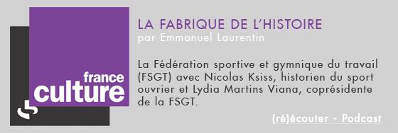 La FSGT sur France Culture